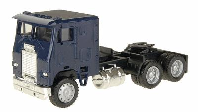 Herpa Freightliner Cabover w/2 Rear Axles - Painted HO Scale Model Railroad Vehicle #25238