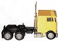 Herpa Peterbilt 362E Cabover w/Dual Rear Axles Various Colors HO Scale Model Railroad Vehicle #25246