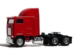 Herpa Models Freightliner FLB 86 Cabover w/Sleeper 3-Axle -- HO Scale Model Railroad Vehicle -- #25248