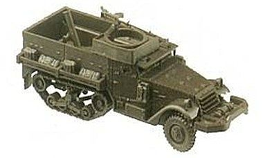 Herpa Models M21 Halftrack w/Mortar -- HO Scale Model Railroad Vehicle -- #278