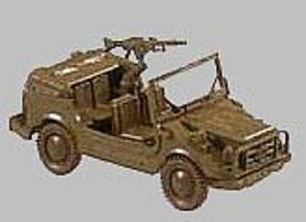 Herpa LKW Jeep HO Scale Model Railroad Vehicle #281