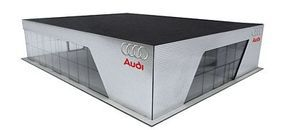 Herpa Audi Dealership 2014 Corporate Design - Kit HO Scale Model Railroad Road Accessory #303613