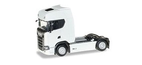 Herpa Scania CS20 Tractor Only - Assembled White