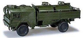 Herpa MAN5 Tonne Tank Truck Plastic Model Military Vehicle 1/87 Scale #402
