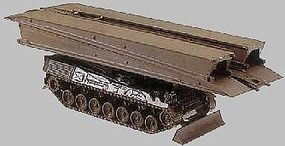 Herpa Biber Armored Bridgelayer HO Scale Model Railroad Vehicle #427