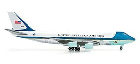 Herpa Boeing 747-200 Air Force1 - 1/500 Scale