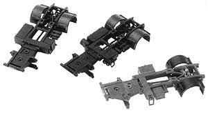 Herpa Models Modern Semi Truck Chassis Set - HO-Scale