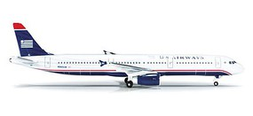 Herpa Airbus 321 US Airways - 1/500 Scale