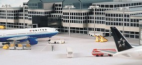 Herpa Airport Basic Set 1 Diecast Model Airplane Accessory 1/500 Scale #520362