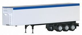 Herpa 3-Axle Wood Chip Trailer - Assembled HO Scale Model Railroad Vehicle #5435