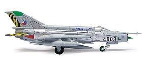 Herpa Mig 21 MF Czech Air Force - 1/200 Scale