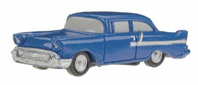 Herpa Models 1950s Hardtop Coupe -- HO Scale Model Railroad Vehicle -- #63214