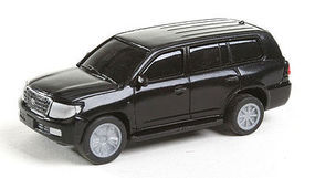 Herpa Modern SUV black HO Scale Model Railroad Vehicle #63540