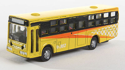 Herpa Bus Type 2 yellow with Light N Scale Model Railroad Vehicle #63683