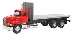 Herpa Mack 603 Flatbed Truck w/Offroad Tires - Assembled HO Scale Model Railroad Vehicle #6478