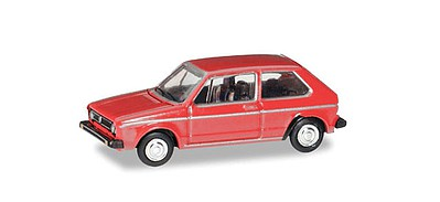 Herpa Volkswagen Golf - Assembled Red - N-Scale