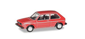 Herpa Volkswagen Golf Assembled Red N-Scale
