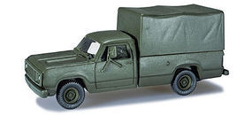 Herpa Dodge M880 4x4 US Army Truck w/Canvas Type Cover Plastic Model Military Vehicle 1/87 #70060