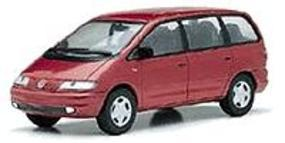 Herpa VW Sharan Metal red - 1/43 Scale