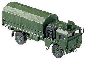 Herpa MAN 451/461 German Armored Truck w/Canvas-Type Cover HO Scale Model Railroad Vehicle #703