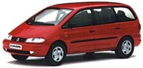 Herpa Seat Alhambra red - O-Scale