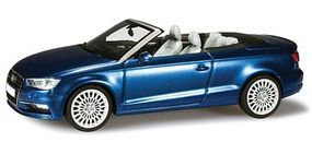 Herpa Audi A3 Convertible Blue Diecast Model Car 1/43 Scale #70812