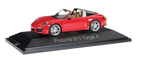 Herpa Porsche 911 Targa red 1/43 Scale