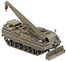 Herpa Bergepanzer 3 Buffel Armored Recovery Vehicle HO Scale Model Railroad Vehicle #726