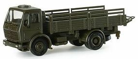 Herpa DB LKW 5-Ton German Army Stake-Body Cargo Truck HO Scale Model Railroad Vehicle #740098