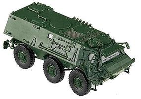 Herpa Modern German Army BW Fuchs (Fox) Armored Personnel HO Scale Model Railroad Vehicle #740586
