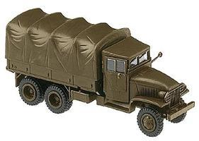 Herpa US & Allies WWII - Trucks - GMC 6x6 Personnel Carrier HO Scale Model Railroad Vehicle #740630