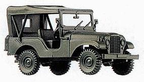 Herpa US & Allies M38A1 1/4 Ton General Purpose Jeep HO Scale Model Railroad Vehicle #741323