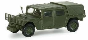 Herpa Humvee Light Truck - Roco Mini-Tanks - US/NATO HO Scale Model Railroad Vehicle #742115