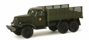 Herpa ZIL157 Russian Red Army Stake Body Truck HO Scale Model Railroad Vehicle #743013
