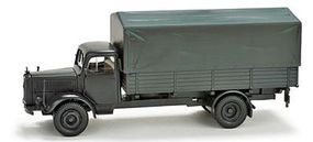 Herpa Mercedes L4500 Canvas-Type Cover Army Truck HO Scale Model Railroad Vehicle #743754