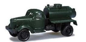 Herpa ZIL164 Army Truck w/Tank HO Scale Model Railroad Vehicle #744058