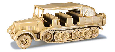 Herpa Krauss Maffei Type 8 Halftrack HO Scale Model Railroad Vehicle #744188