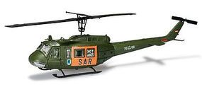 Herpa Bell UH1D SAR Helicopter (Kit) HO Scale Model Railroad Vehicle #744423