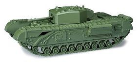 Churchill Type Mk IV Infantry Tank HO Scale Model Railroad Vehicle #744430