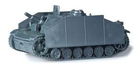 Herpa Sturmgeschuetz II w/Armor HO Scale Model Railroad Vehicle #744782