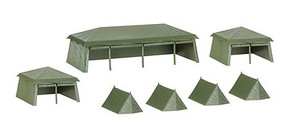 Herpa 1/87 Tents Assorted Sizes (7)