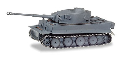 Herpa Tiger Tank Version 1 H1 - Assembled Battle Of Kursk (gray)