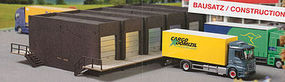 Herpa Warehouse Front with 5 Docks Kit HO Scale Model Railroad Vehicle #76708