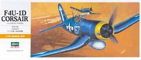 Hasegawa F4U1D Corsair Aircraft Plastic Model Airplane Kit 1/72 Scale #00140
