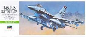 Hasegawa F-16A Plus Fighting Falcon Plastic Model Airplane Kit 1/72 Scale #00231