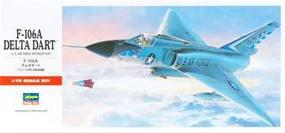 F-106A Delta Dart Plastic Model Airplane Kit 1/72 Scale #00341