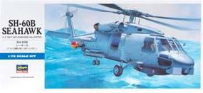 Hasegawa SH-60B Seahawk Plastic Model Helicopter Kit 1/72 Scale #00431