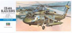 Hasegawa UH-60A Black Hawk Plastic Model Helicopter Kit 1/72 Scale #00433