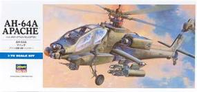 Hasegawa AH-64A Apache Plastic Model Helicopter Kit 1/72 Scale #00436