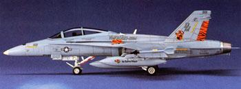 Hasegawa F/A-18D Hornet Plastic Model Airplane Kit 1/72 Scale #00439